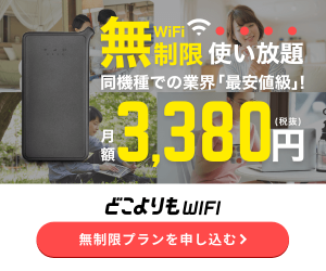 どこよりもWi-Fi(縛りあり)【株式会社Wiz】